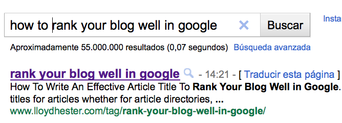 how to rank well in google