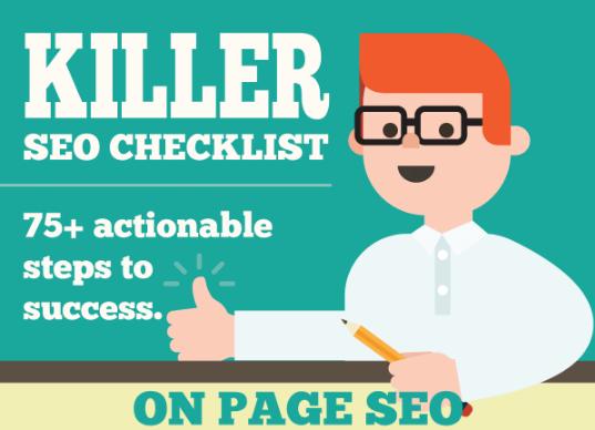 Killer SEO Checklist